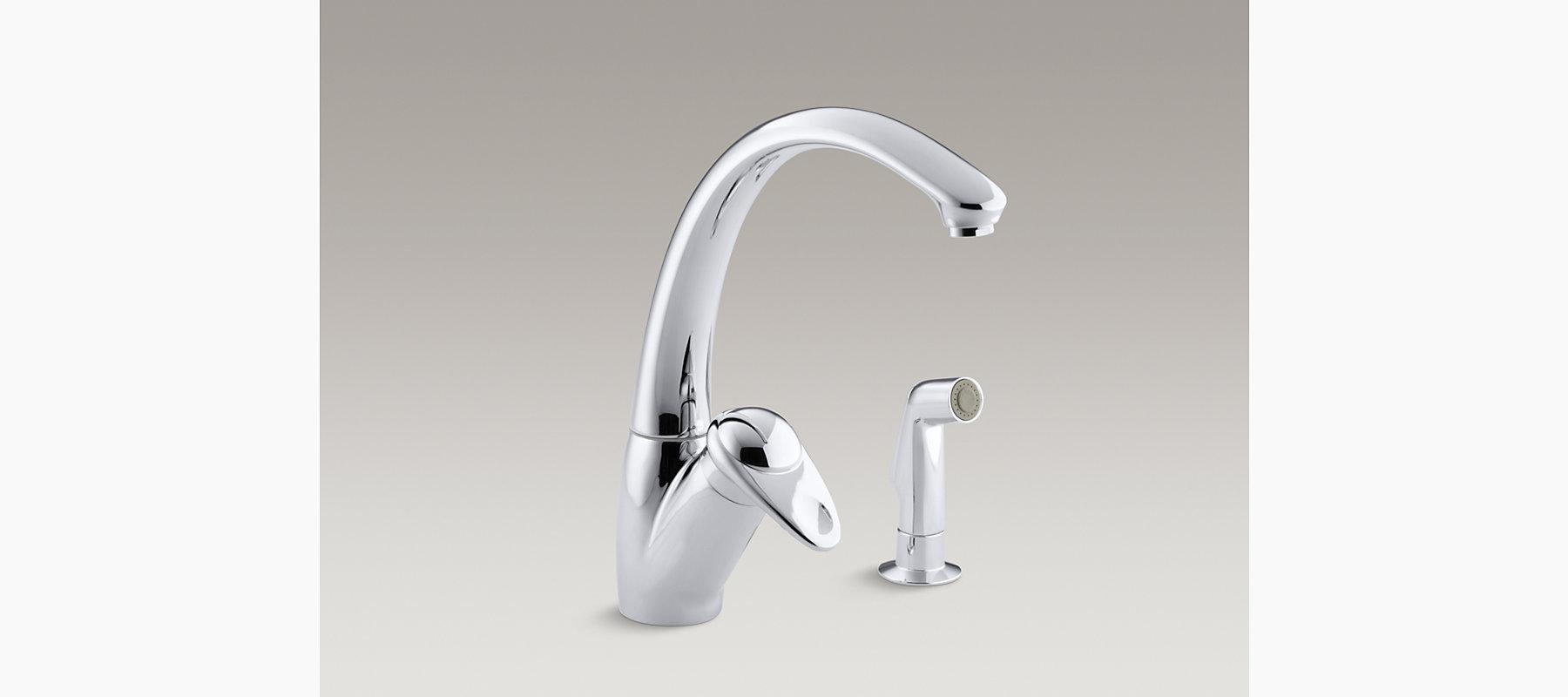 Avatar Single-Handle Kitchen Sink Faucet | K-6356 | KOHLER