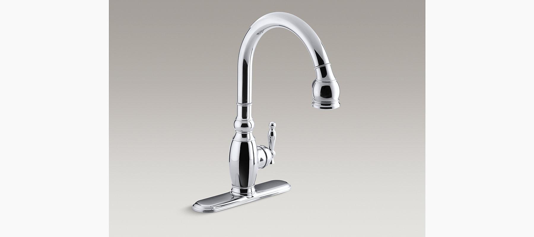 Vinnata Kitchen Sink Faucet   K-R690   KOHLER