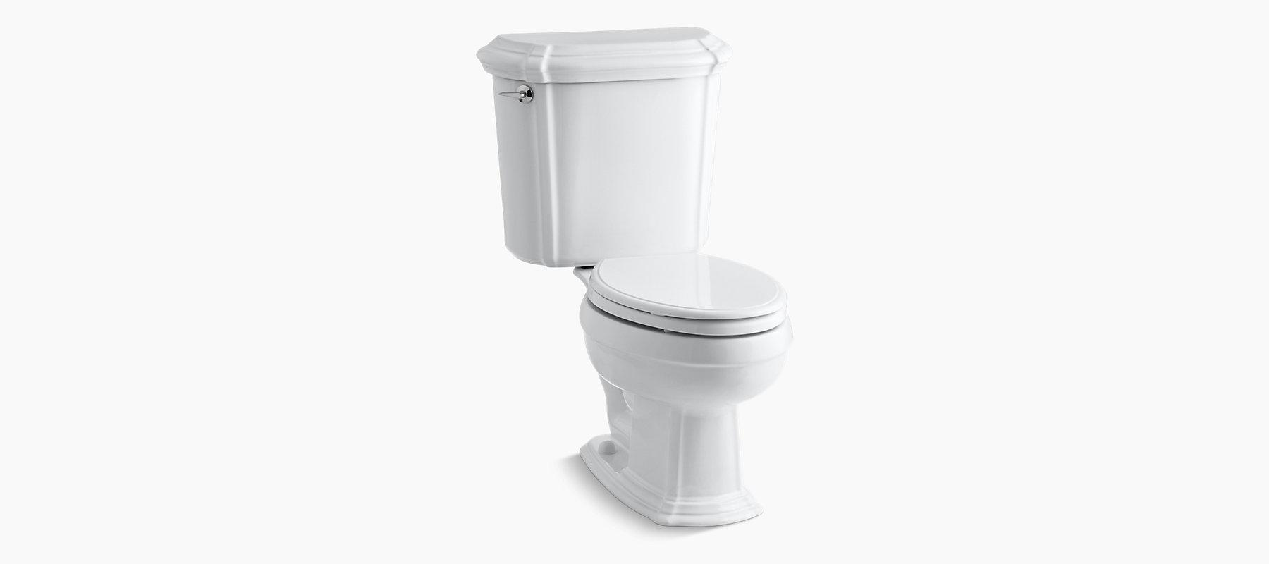 KOHLER|K-3591|Portrait Two-Piece Elongated 1 6-GPF Toilet