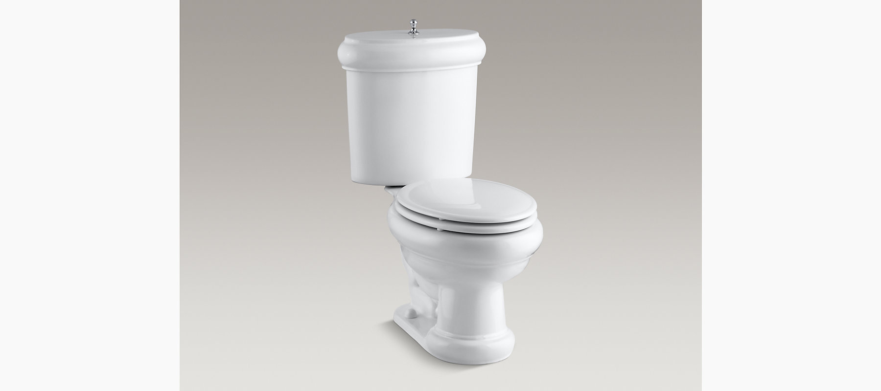 KOHLER|K-3555-U|Revival Elongated 1.6-GPF Toilet with Seat and ...
