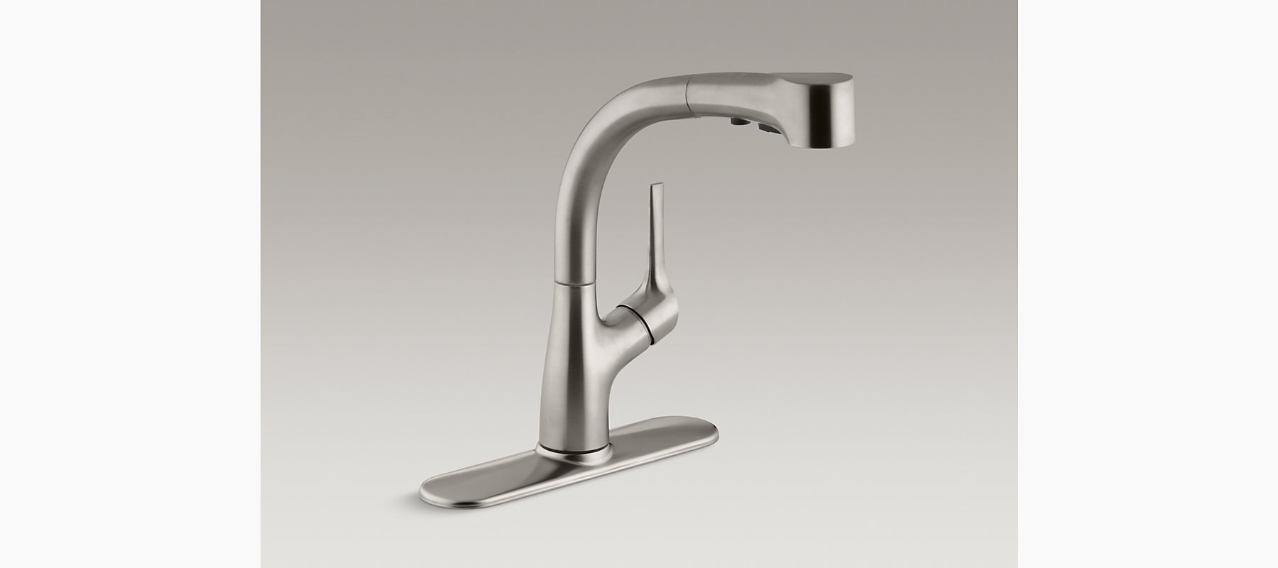 K R13963 Elate Kitchen Sink Faucet With Pull Out Sprayhead KOHLER