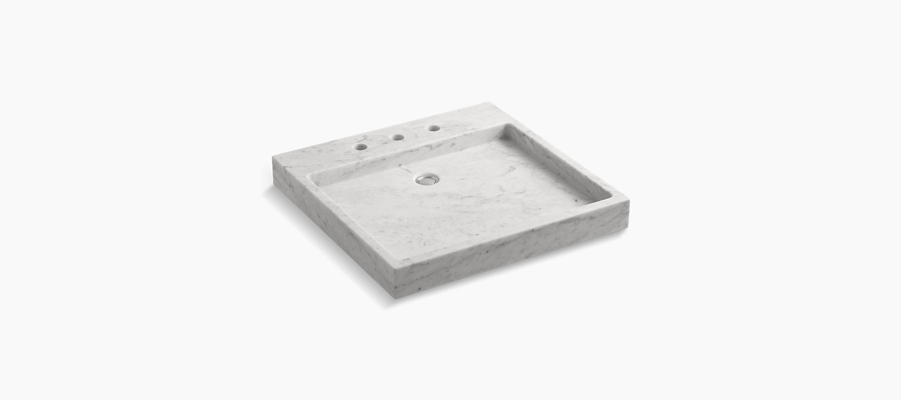 amazing marble countertop sink design and modern faucet.htm k 2335 8 purist countertop wading pool sink kohler  purist countertop wading pool sink