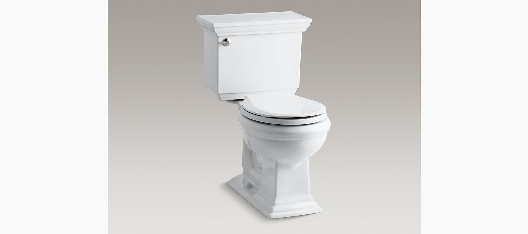 KOHLER|K-3533|Memoirs Stately Comfort Height Round 1.6-GPF Toilet ...