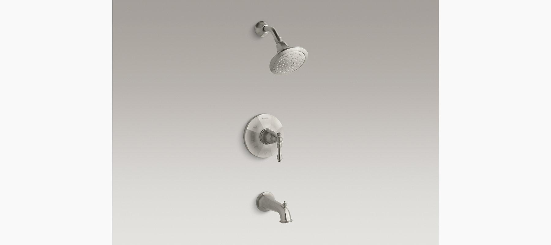 Kelston Rite-Temp Bath and Shower Faucet Trim | K-R13492-4 | KOHLER