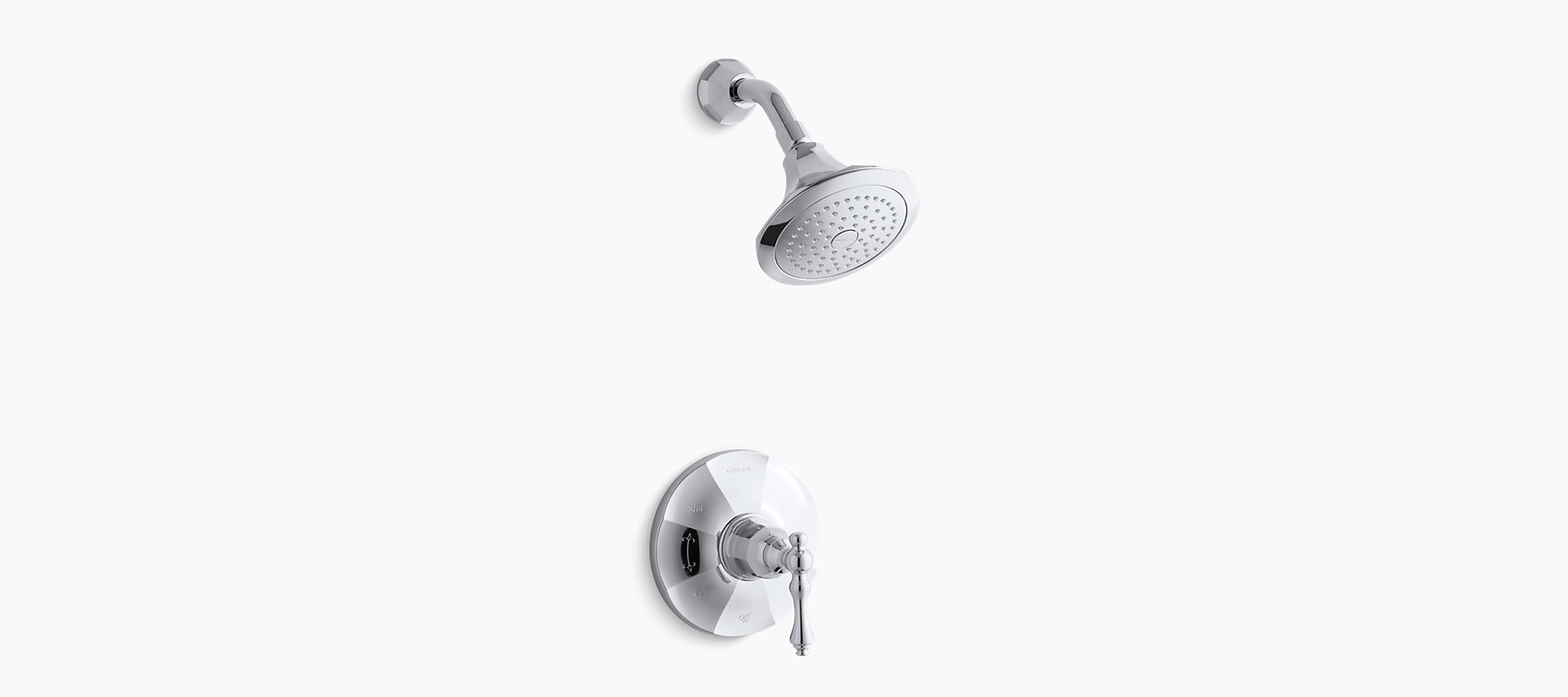 K-T13493-4 | Kelston Rite-Temp shower faucet trim | KOHLER