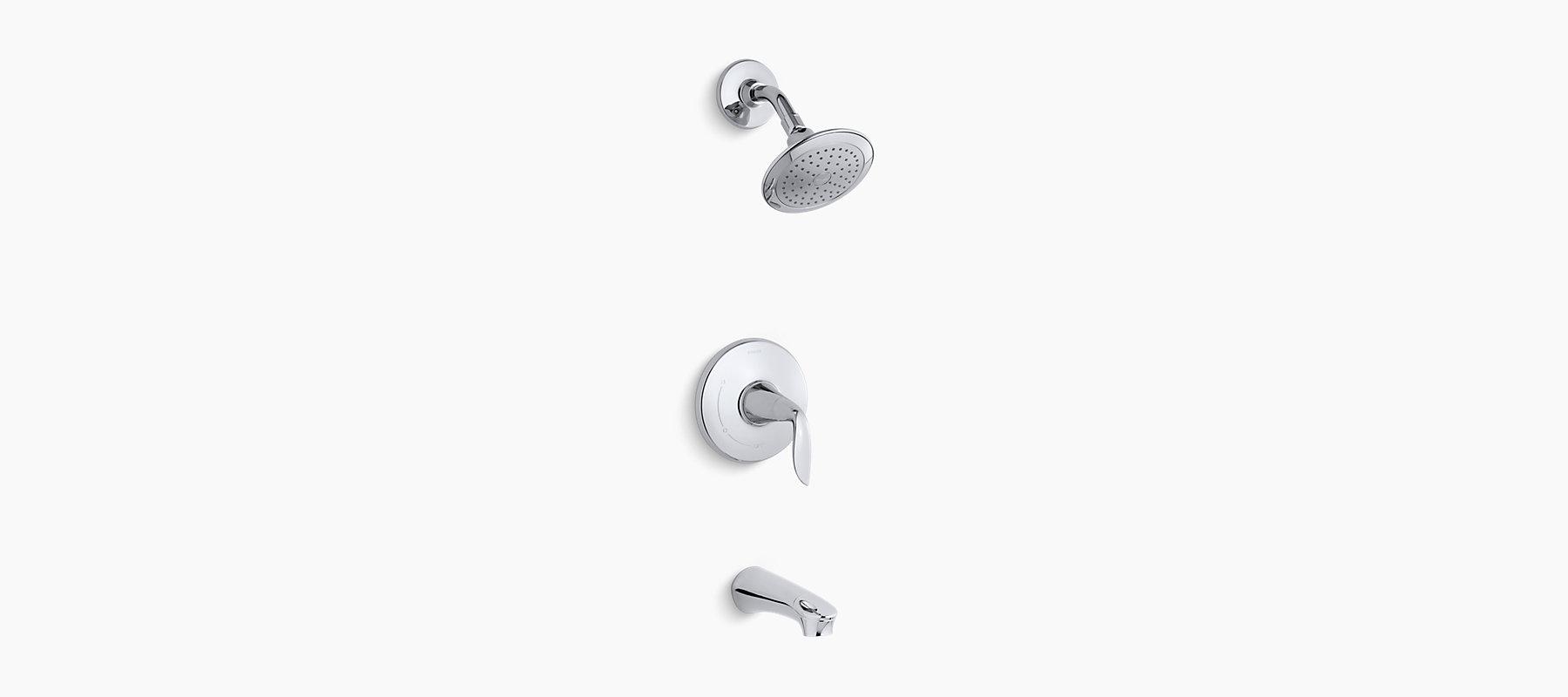 K-T5318-4   Refinia bath and shower trim, valve not included   KOHLER