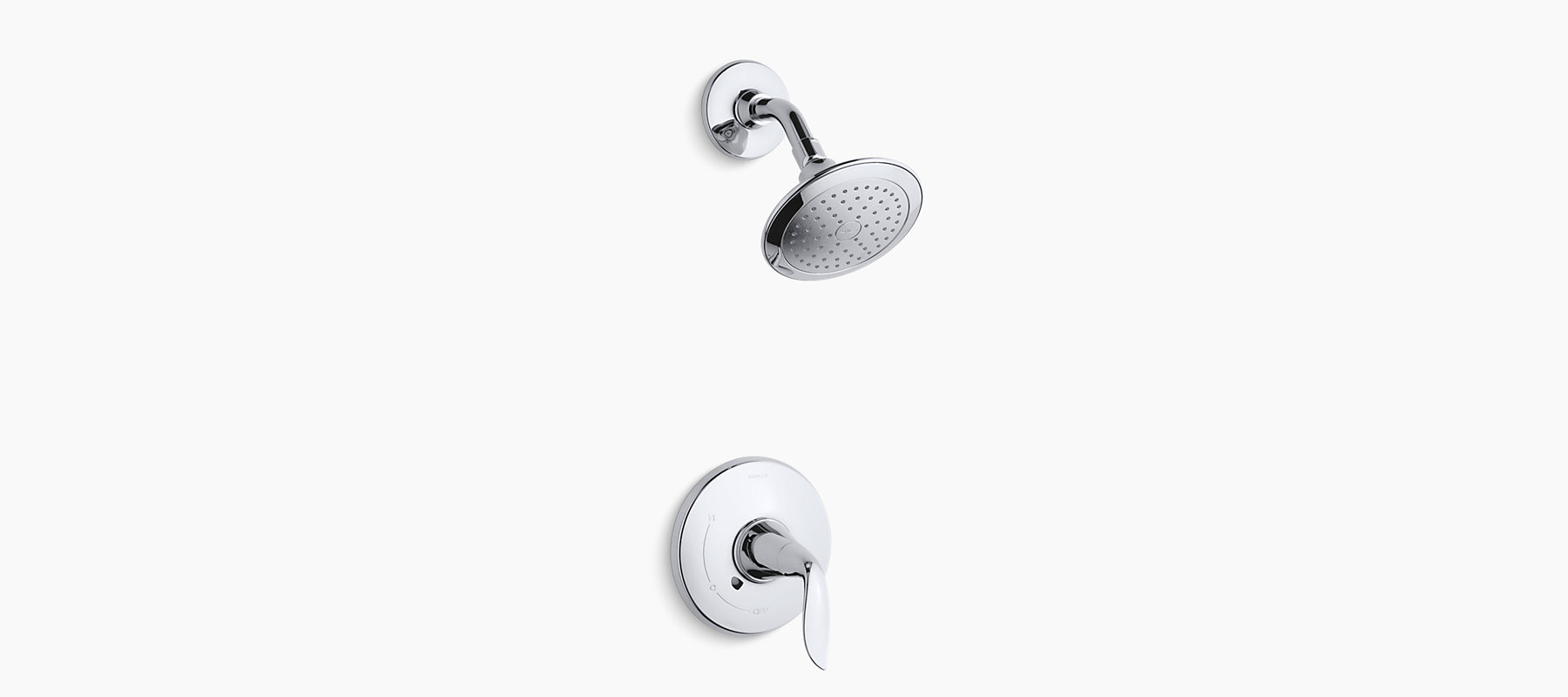 Refinia shower trim, valve not included | K-T5320-4 | KOHLER