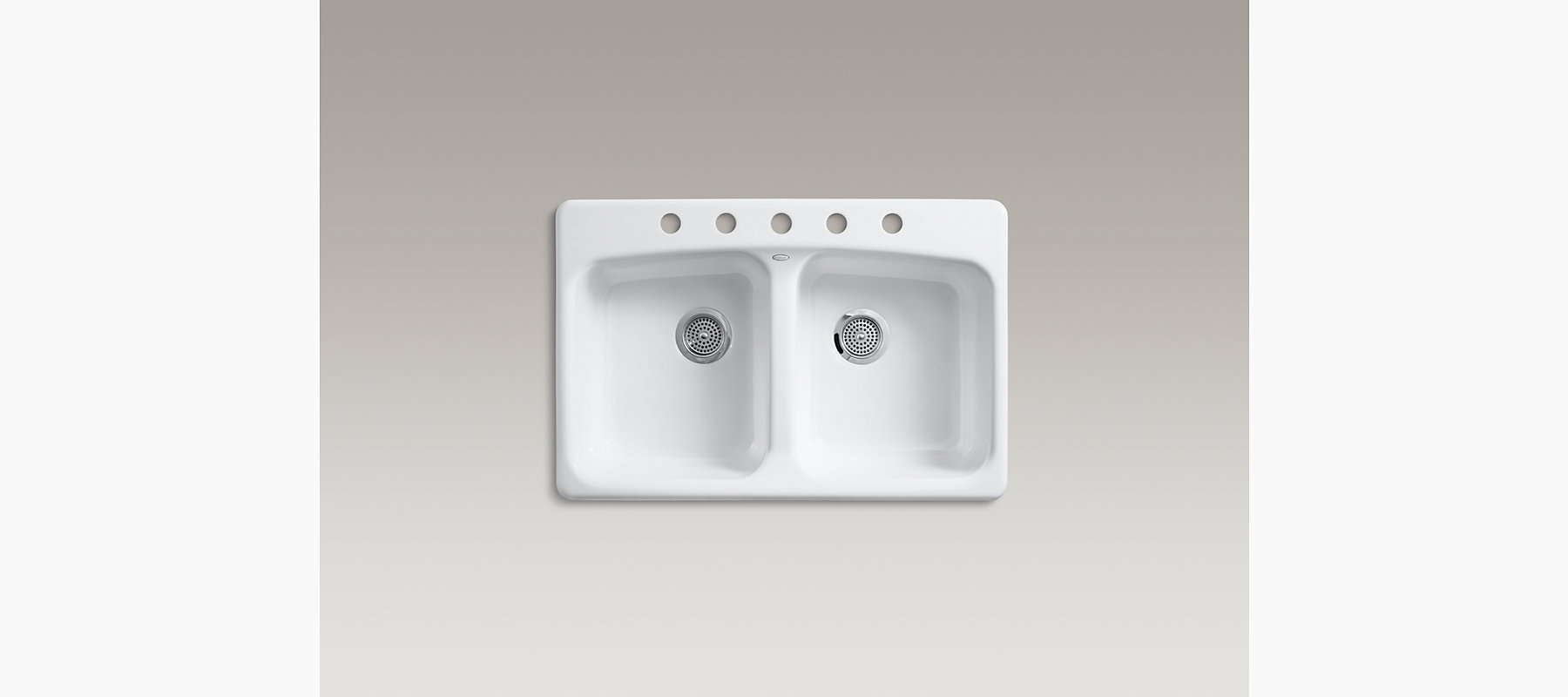 Brookfield Top-Mount Kitchen Sink with Five Faucet Holes | K-5942 ...