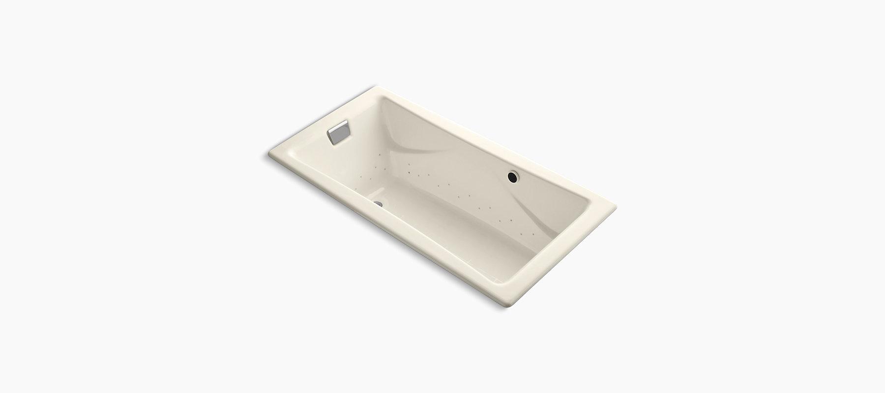 K 865 G47 Tea For Two 6 Foot Bubblemassage Air Bath Kohler