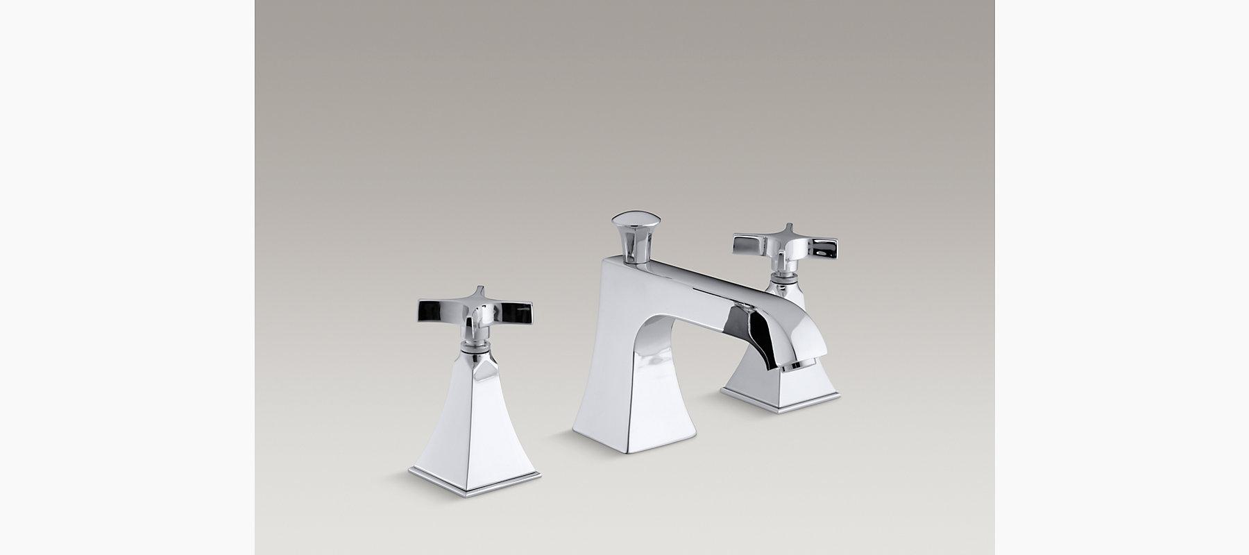 Memoirs Stately Deck-Mount High-Flow Bath Faucet Trim   K-T428-3S ...