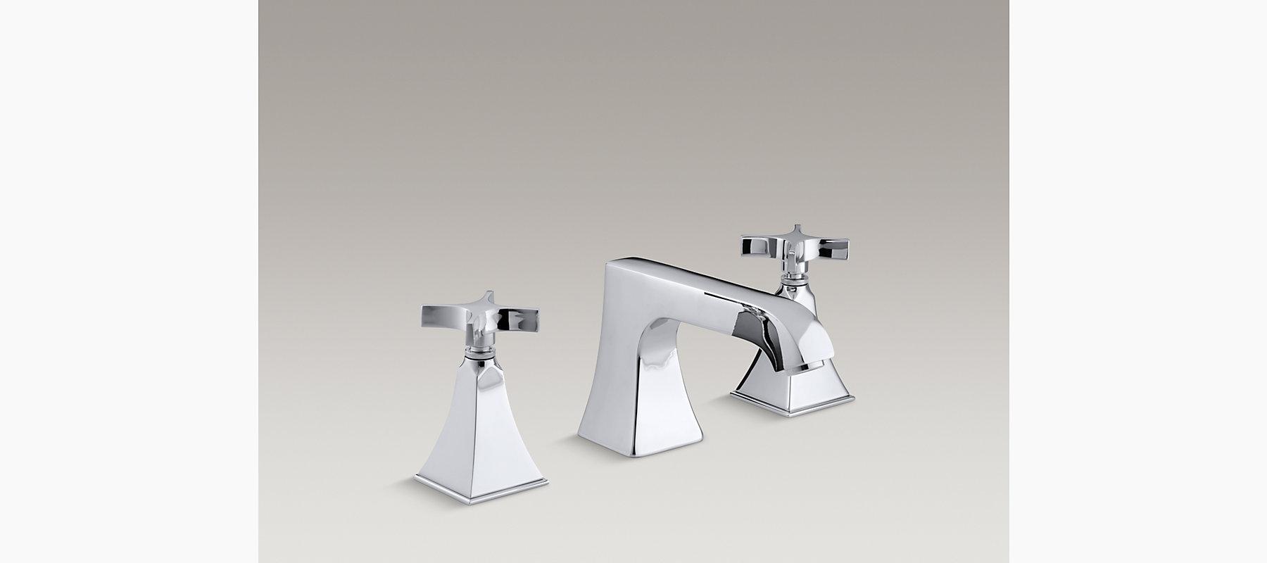Memoirs Stately Deck-Mount High-Flow Bath Faucet Trim   K-T469-3S ...