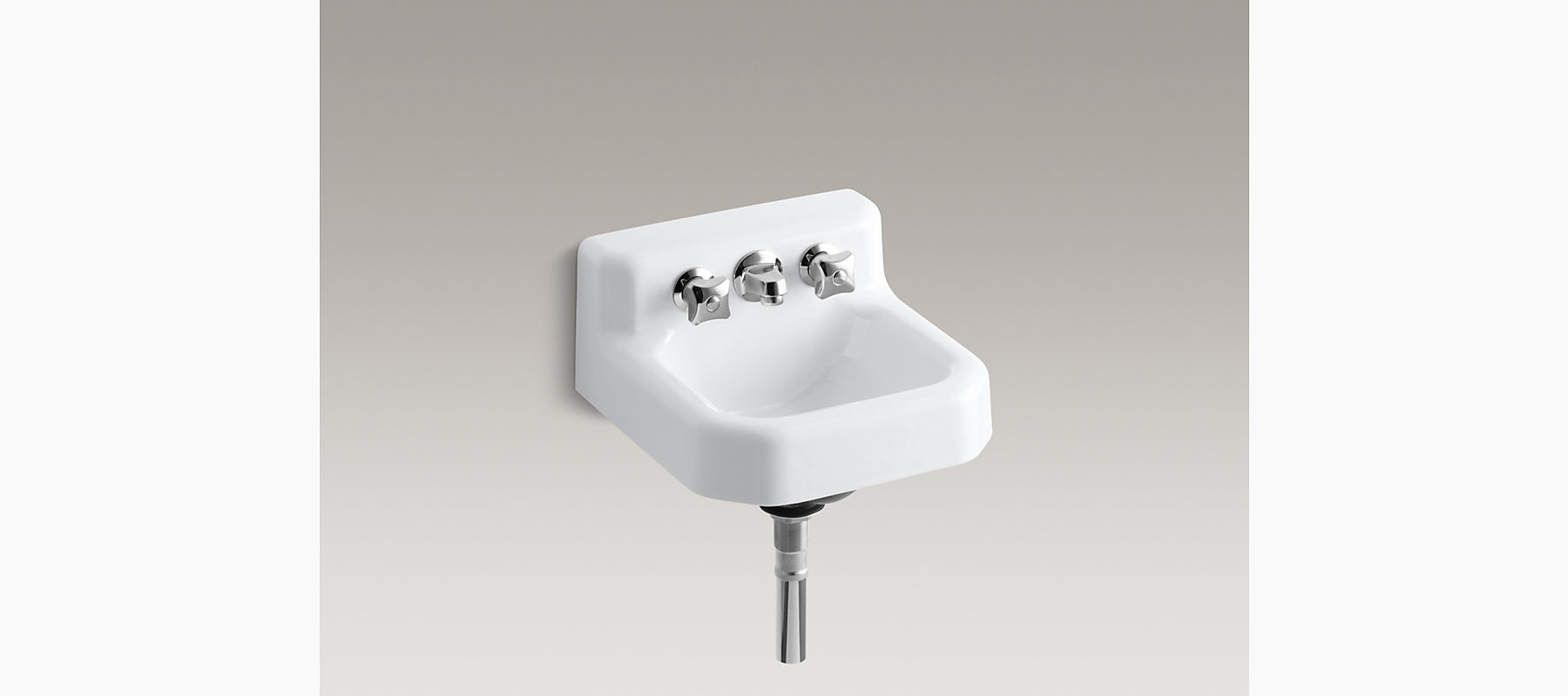 Trailer wall mounted commercial bathroom sink with factory - Discontinued kohler bathroom sink faucets ...