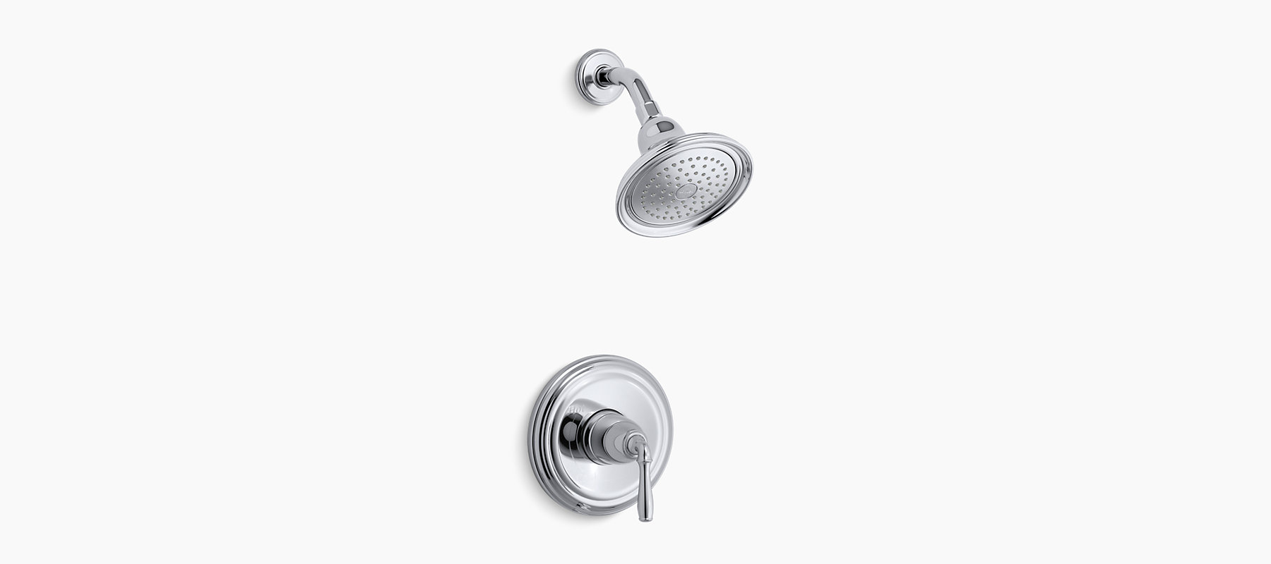Devonshire RiteTemp Pressurebalancing Shower Faucet Trim With - Kohler devonshire bathroom faucet brushed nickel