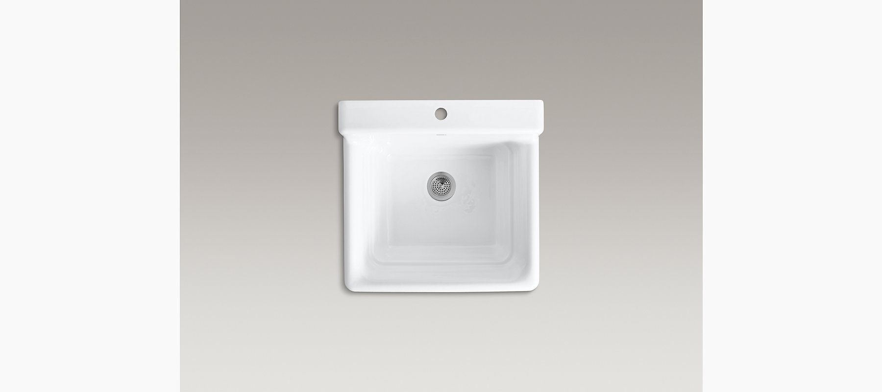 Bayview Top-Mount Utility Sink with Single Faucet Hole | K-6608-1 ...