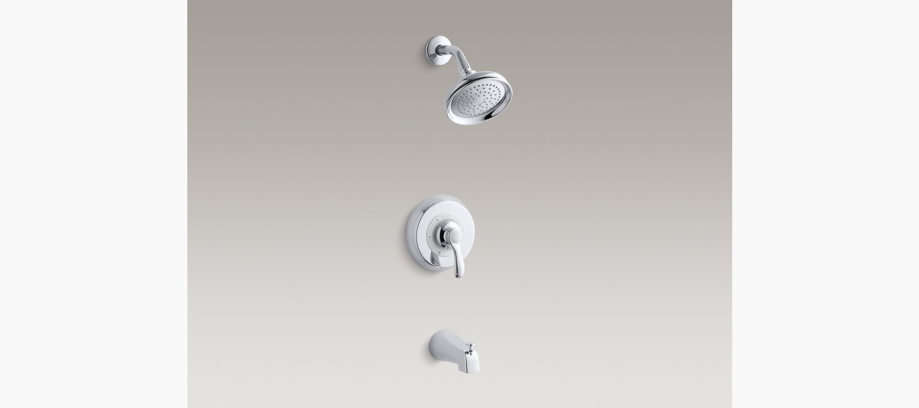 KOHLER| Fairfax Rite-Temp Bath and Shower Faucet Trim | KOHLER