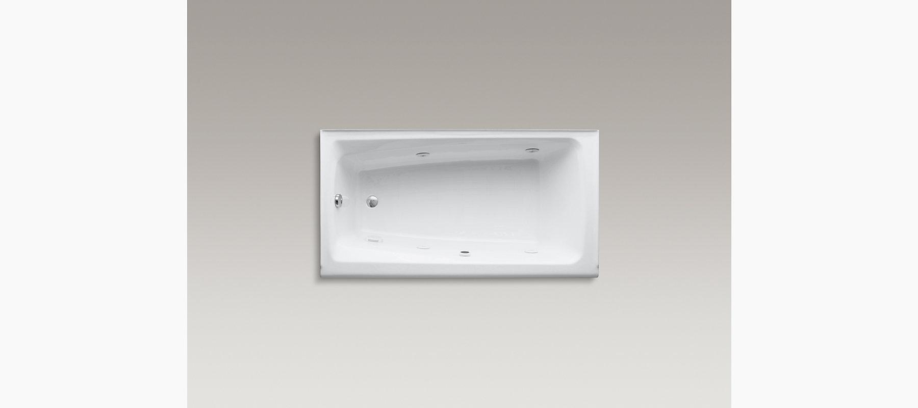 Mendota Whirlpool with Left-Hand Drain   K-513-H2   KOHLER