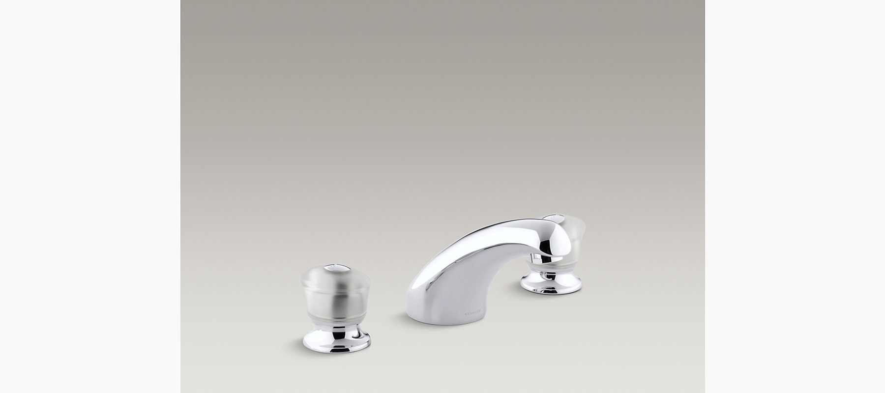 Coralais Bath-Mount High-Flow Bath Faucet Trim | K-T15294-7 | KOHLER