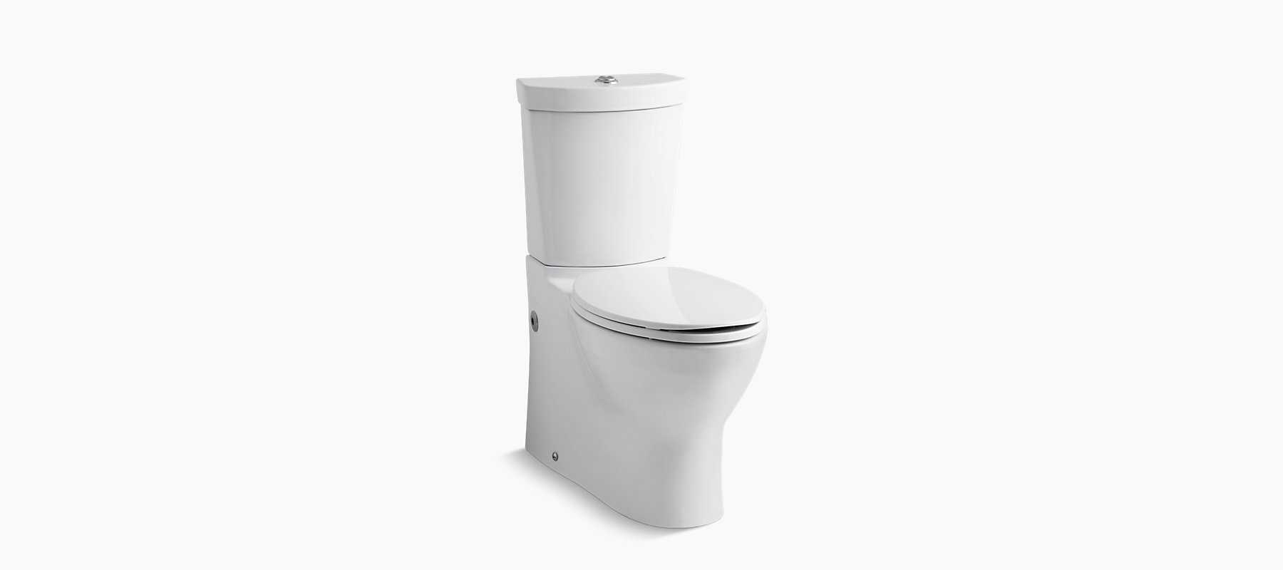 Kohler K 3654 Persuade Compact Elongated Dual Flush Toilet