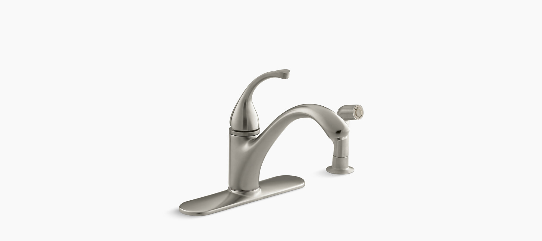 K R10412 N Fort 233 Single Handle Kitchen Sink Faucet Kohler