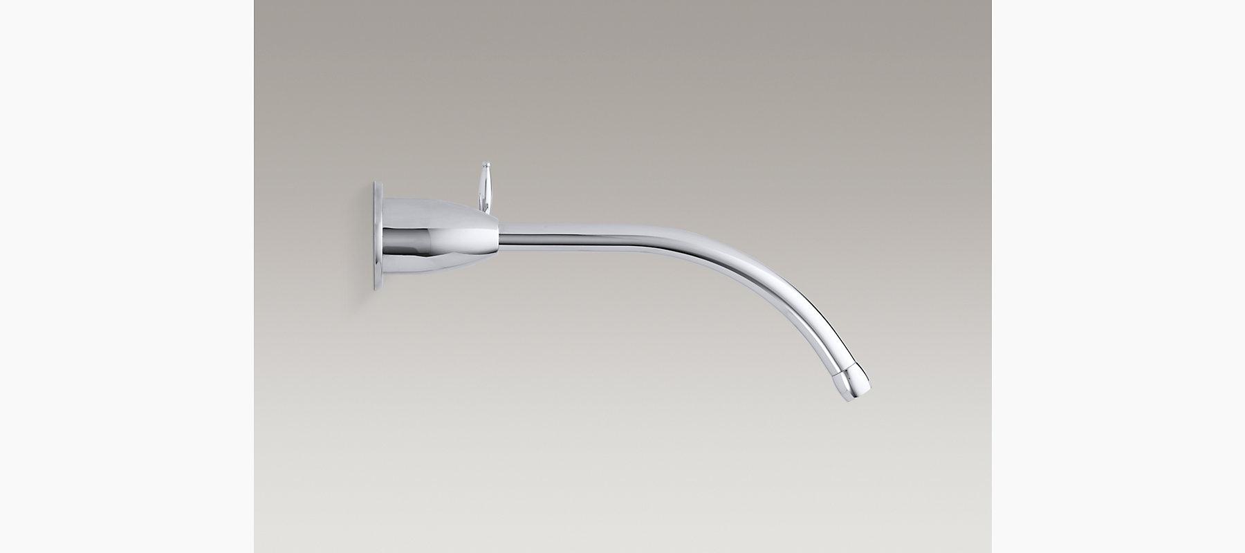 Falling Water Wall-Mount Bathroom Sink Faucet Trim | K-T198 | KOHLER