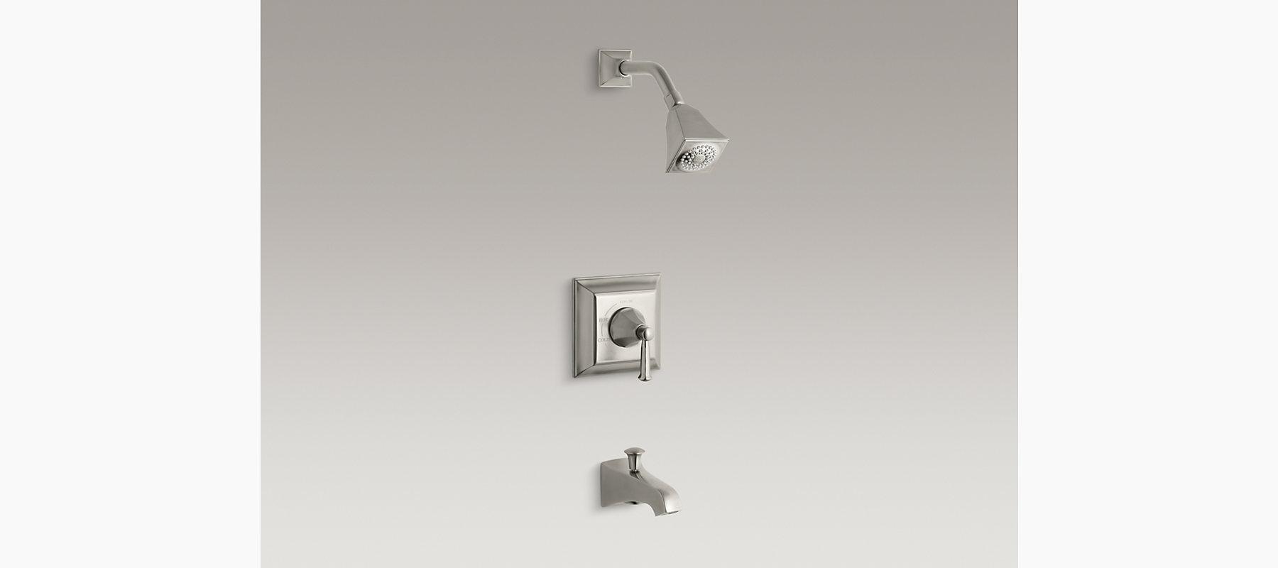 KOHLER| Memoirs Stately Rite-Temp Bath and Shower Faucet Trim | KOHLER