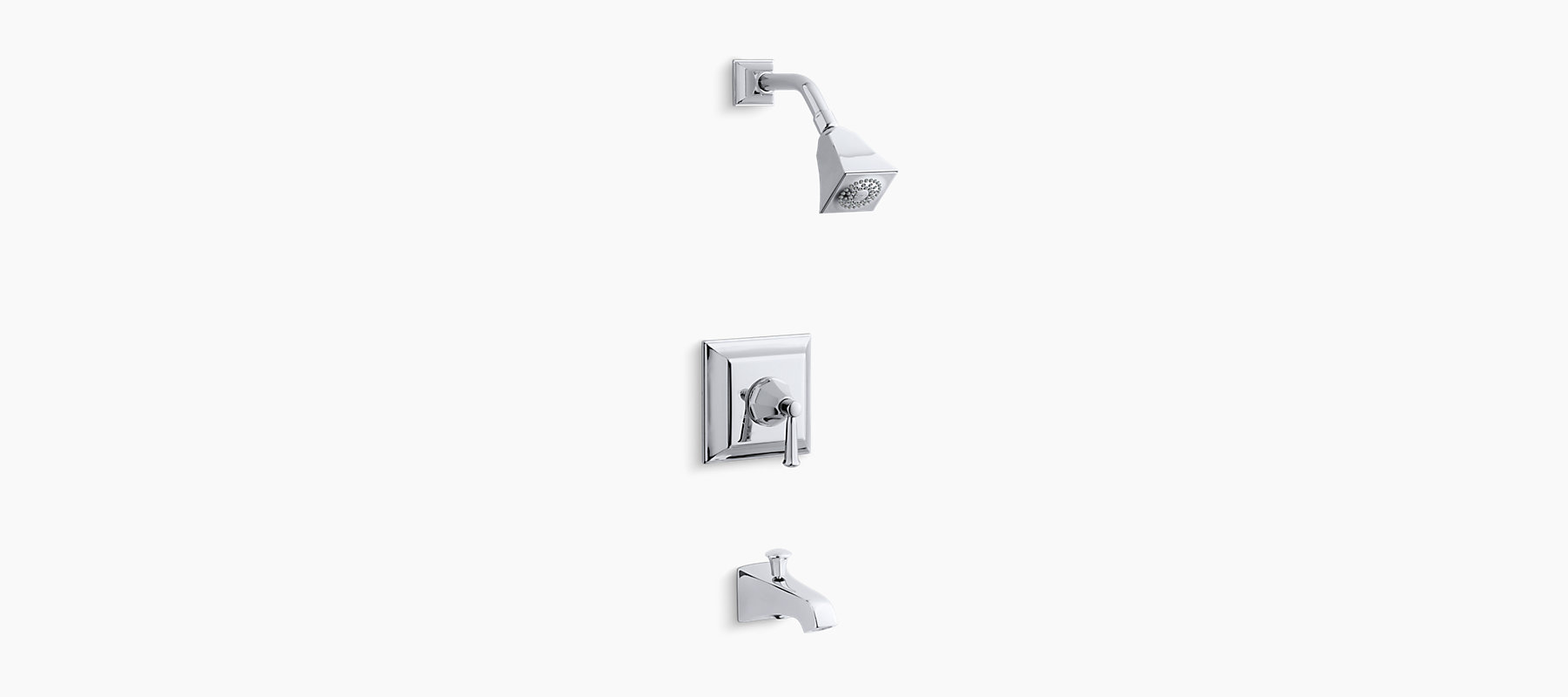 K-T461-4S   Memoirs Stately Rite-Temp Bath and Shower Faucet Trim ...