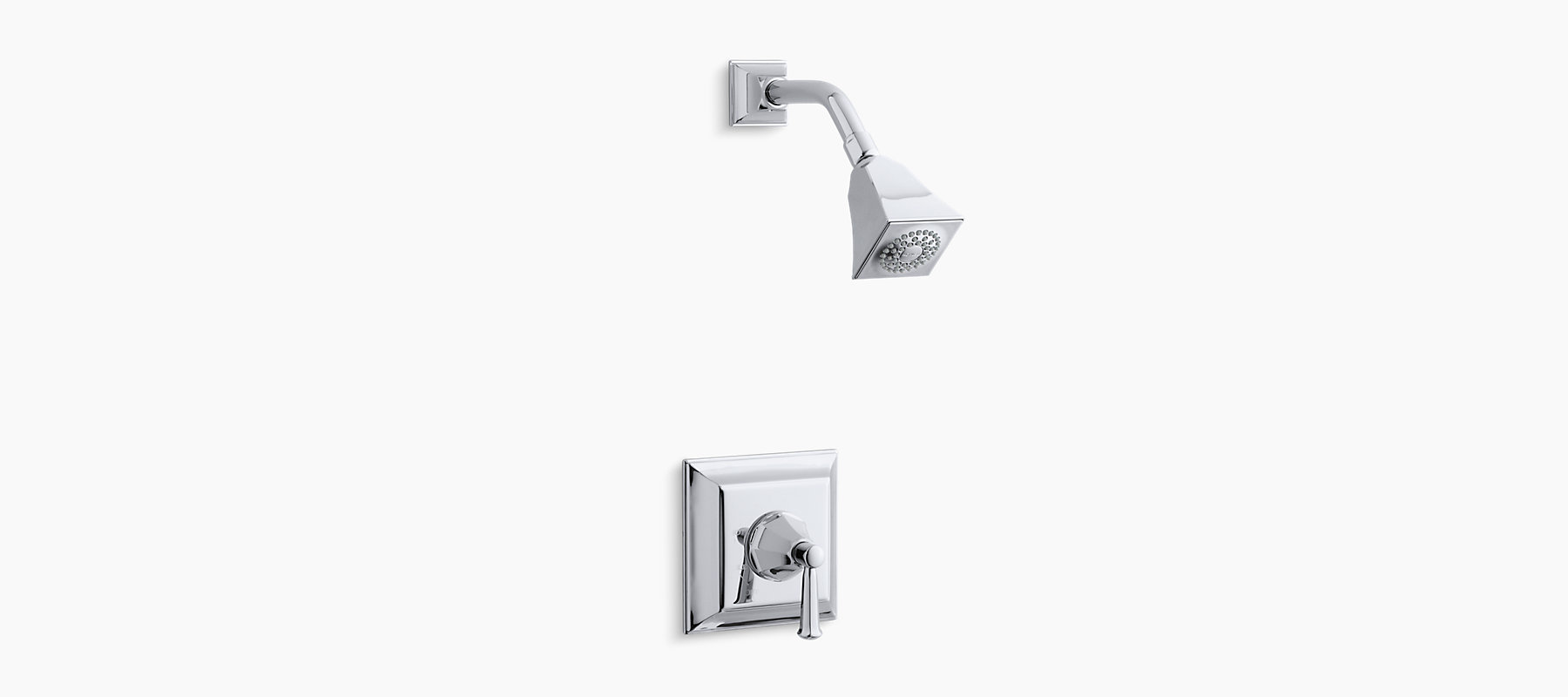 Memoirs Stately Rite-Temp pressure-balancing shower faucet trim with ...