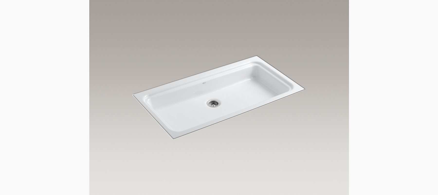 Oceanview Tile-In Utility Sink | K-6606 | KOHLER