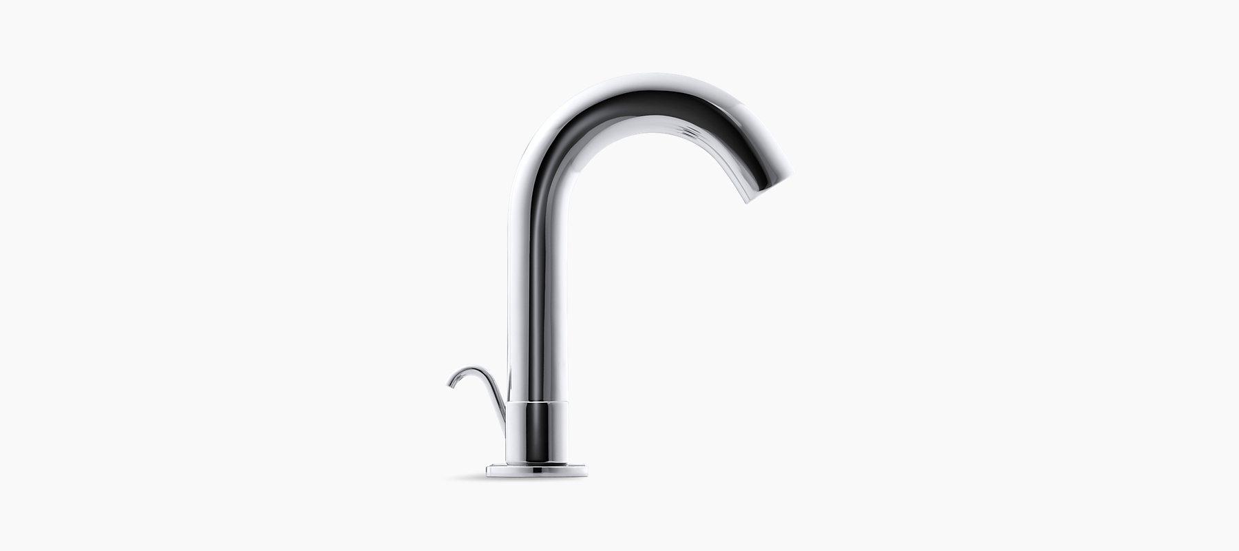 Oblo Widespread Bathroom Sink Faucet | K-10086-9 | KOHLER