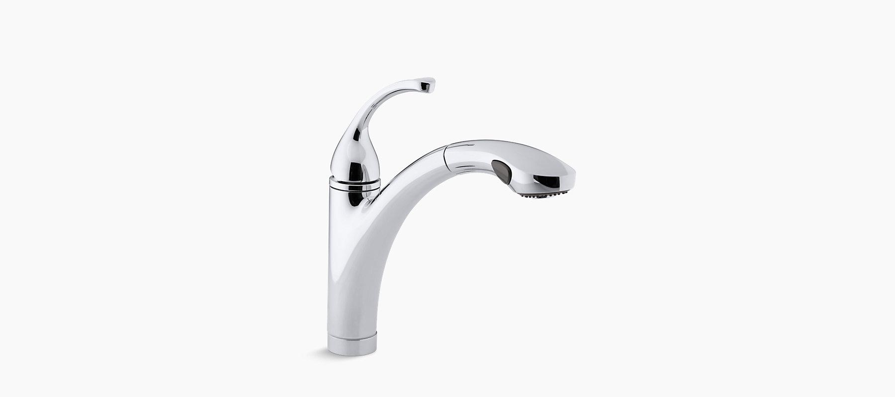 K-R10433-SD | Forté® single-handle pull-out kichen faucet | KOHLER