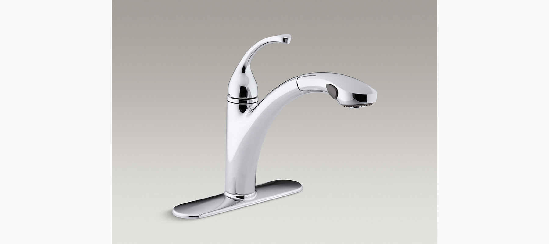 K-R10433 | Forté Single-Handle Pull-out Spray Kitchen Sink Faucet ...