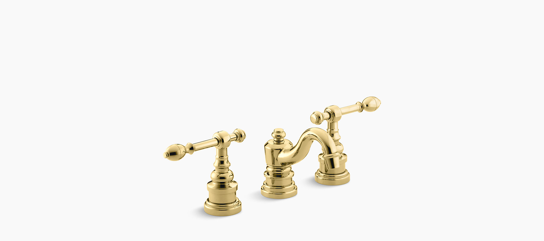 Iv Georges Br Widespread Sink Faucet