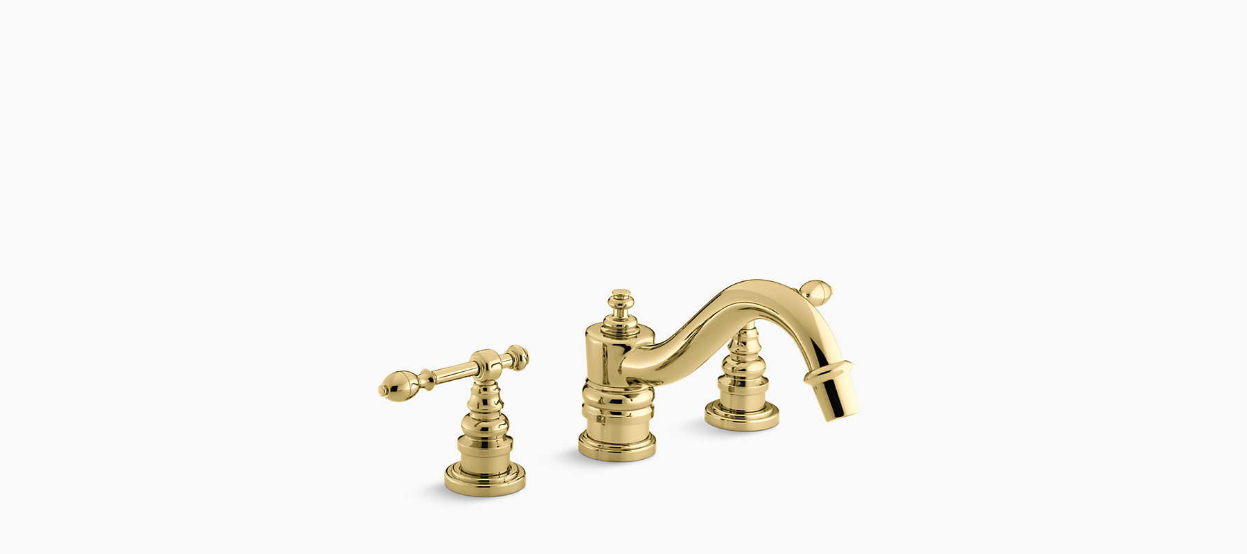 Iv Georges Br Deck Mount Bath Faucet