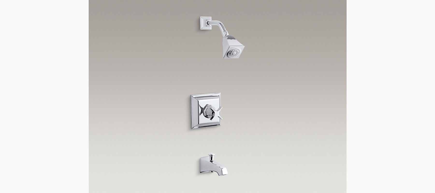 Memoirs Stately Rite-Temp Bath and Shower Faucet Trim   K-T461-3S ...