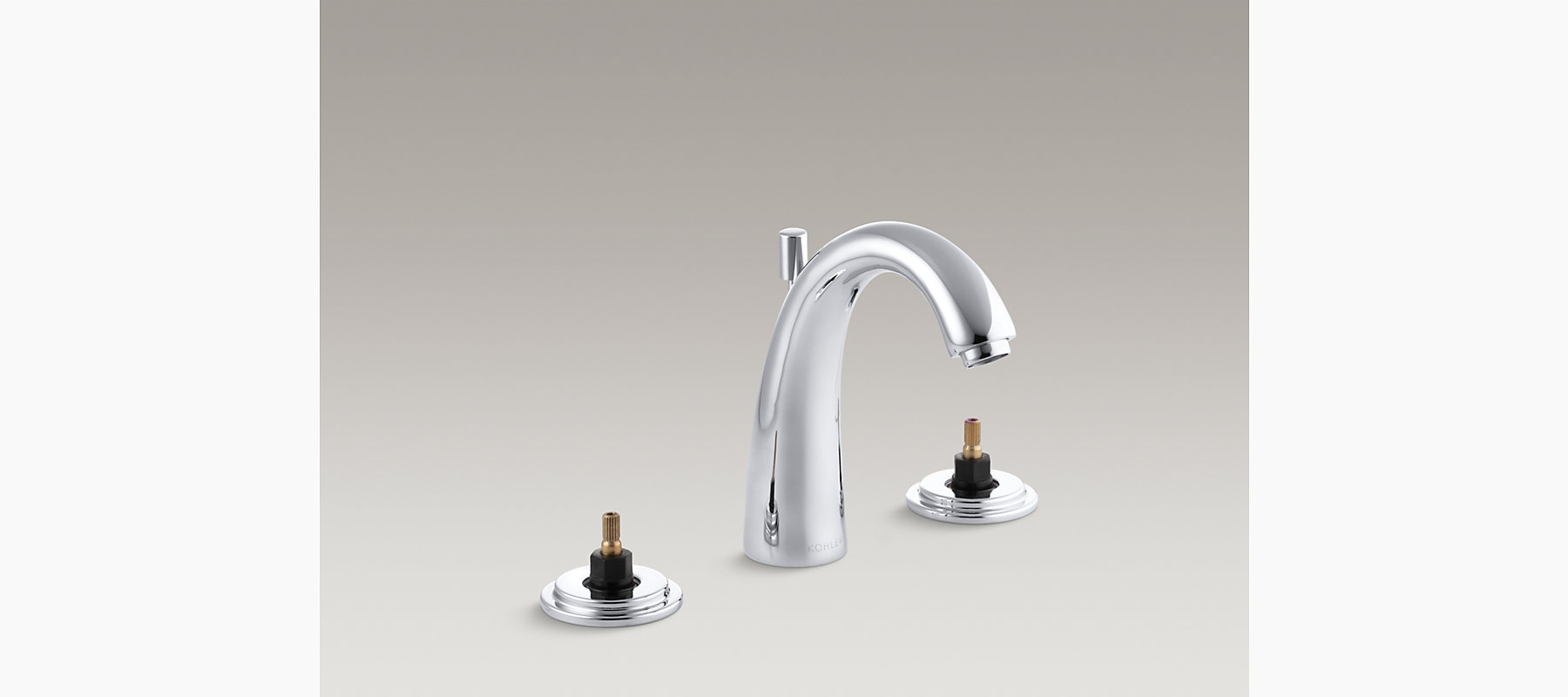 Taboret Widespread Sink Base Faucet With Escutcheons KK - Discontinued kohler bathroom sink faucets