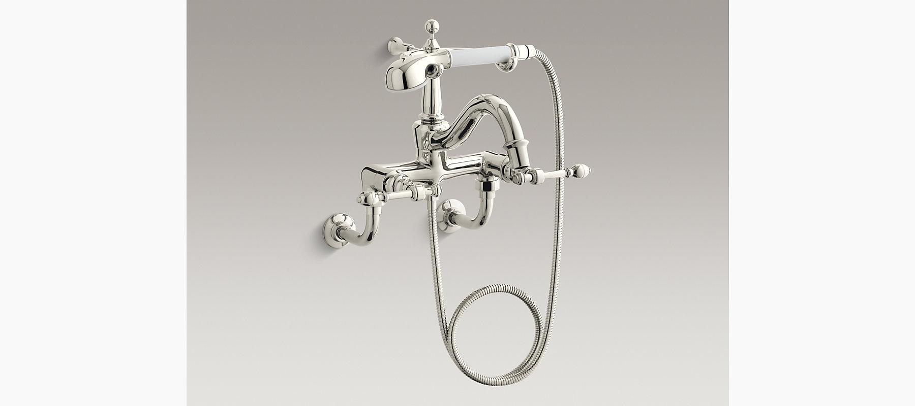 IV Georges Brass Bath Faucet With Handshower K KOHLER - Kohler brass bathroom fixtures