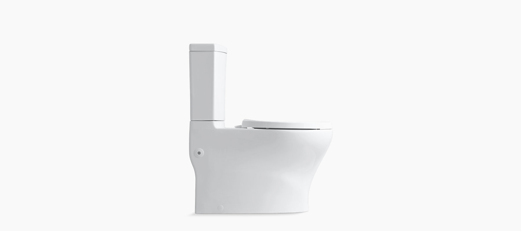 KOHLER|K-3723|Persuade Curv 2-Piece Elongated Dual-Flush Toilet | KOHLER