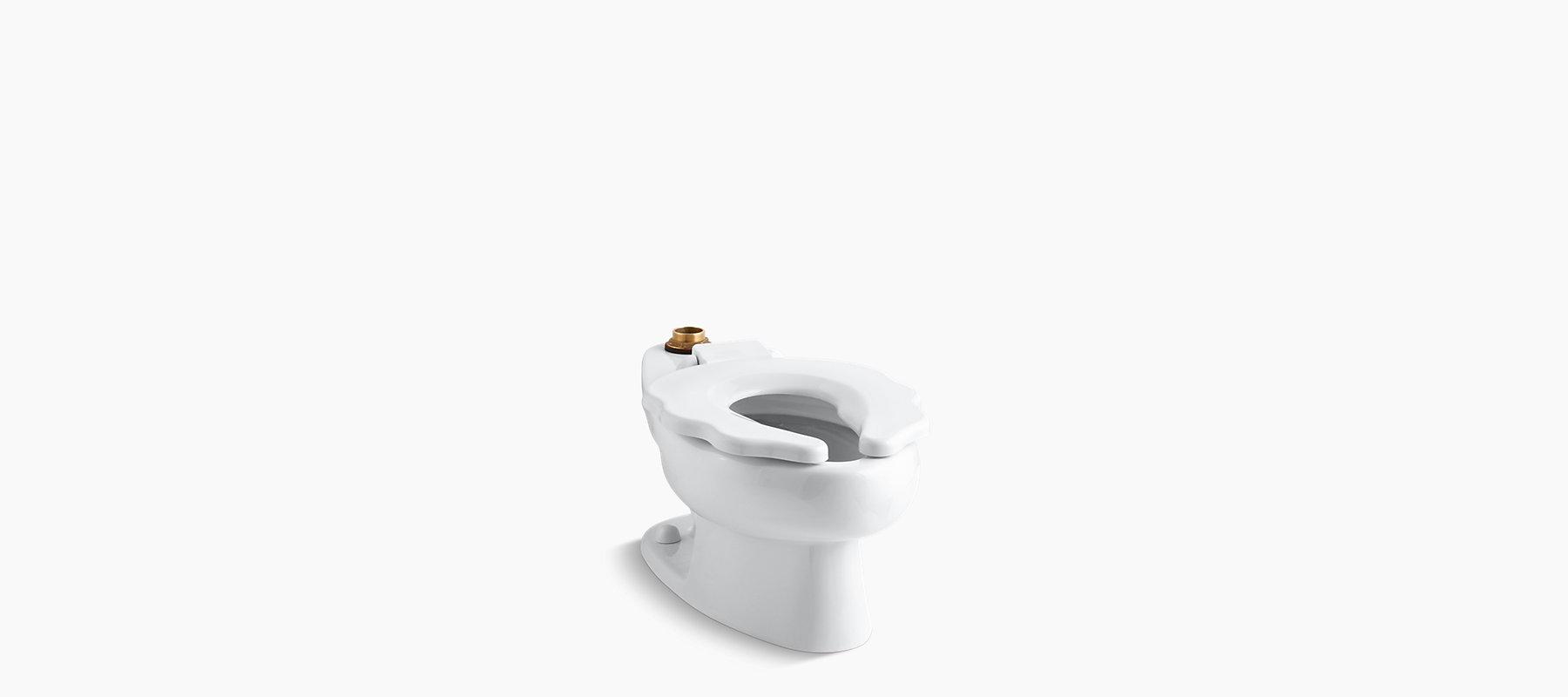 Primary 1.28 gpf elongated bowl with seat | K-4384 | KOHLER