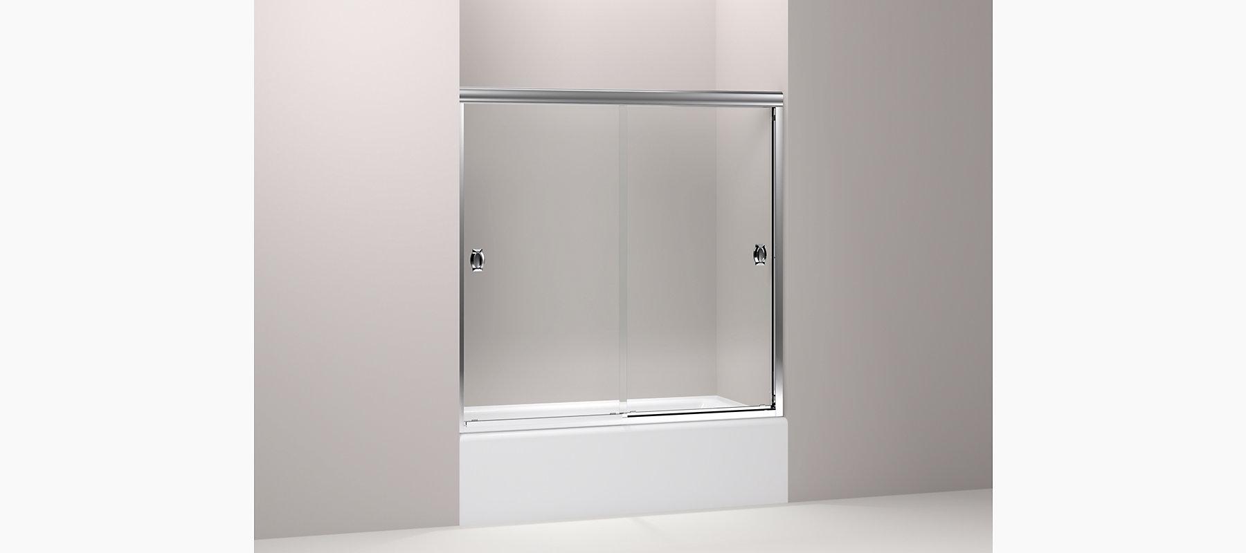 KOHLER  Devonshire Frameless Sliding Bath Door   KOHLER