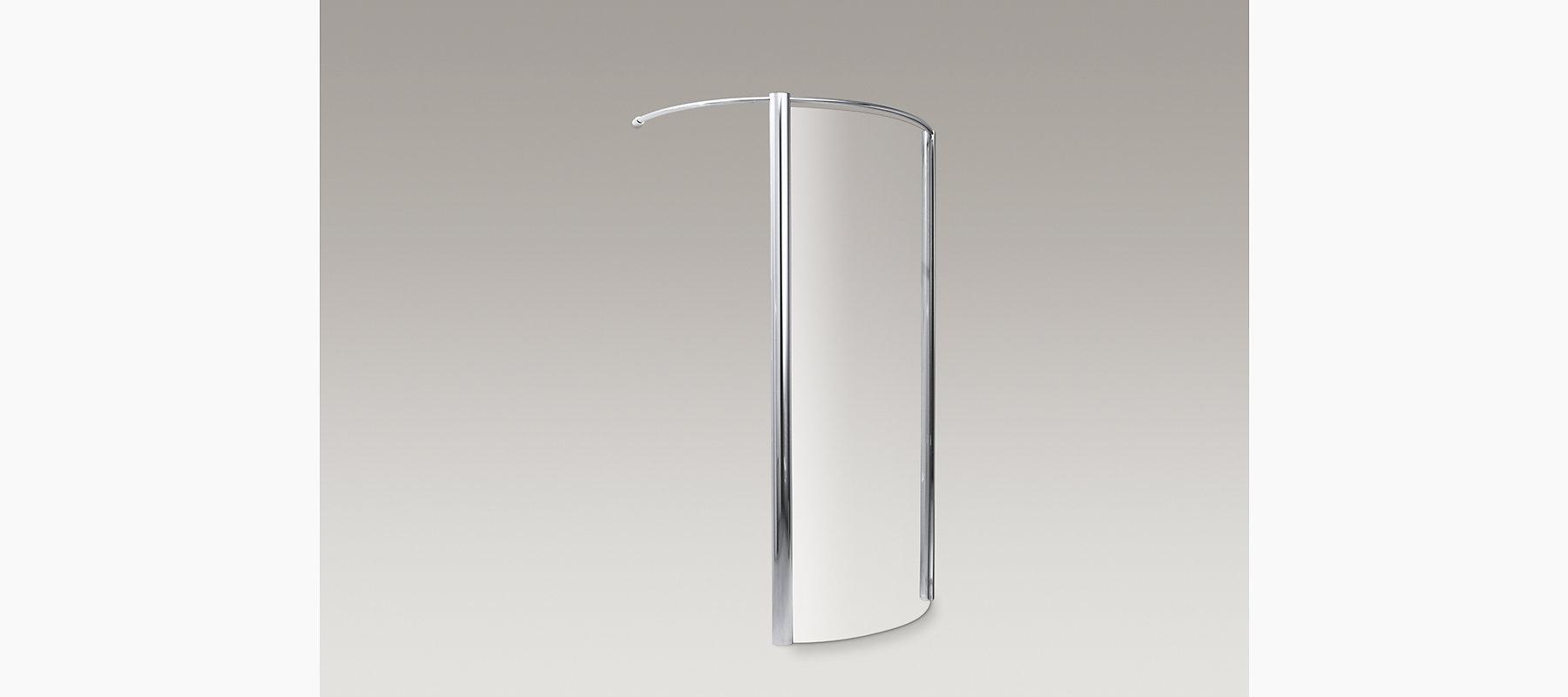 KOHLER| Cyan Frameless Walk-In Shower Enclosure | KOHLER