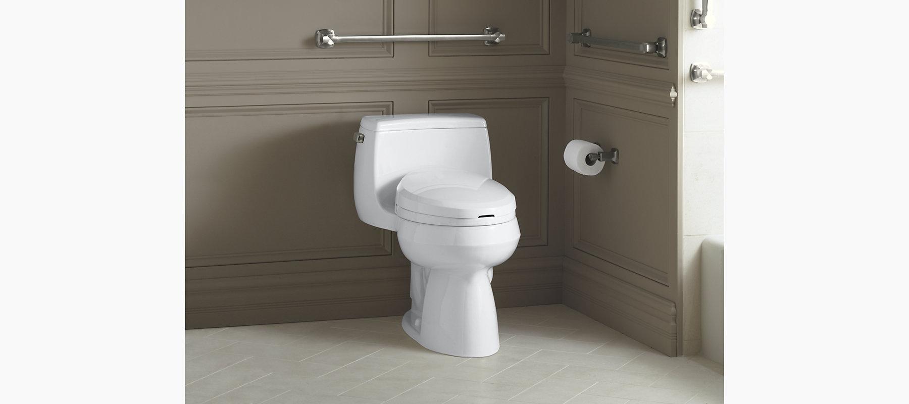 Kohler K 3825 Gabrielle Toilet With C3 Toilet Seat Bidet