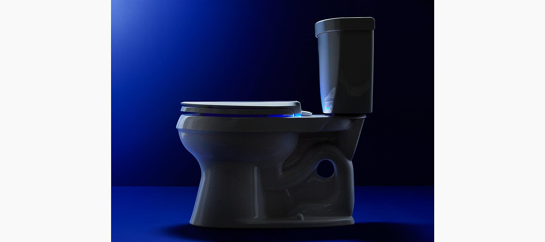 Cachet Nightlight Elongated Toilet Seat | K-4888 | KOHLER