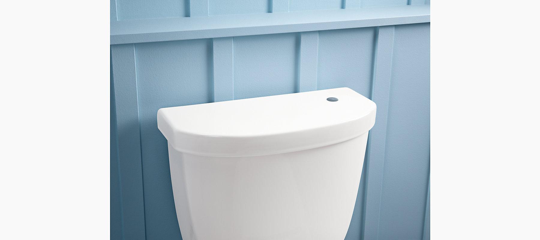 Cimarron Round-Front Touchless Toilet, 1.28 GPF | K-99250 | KOHLER