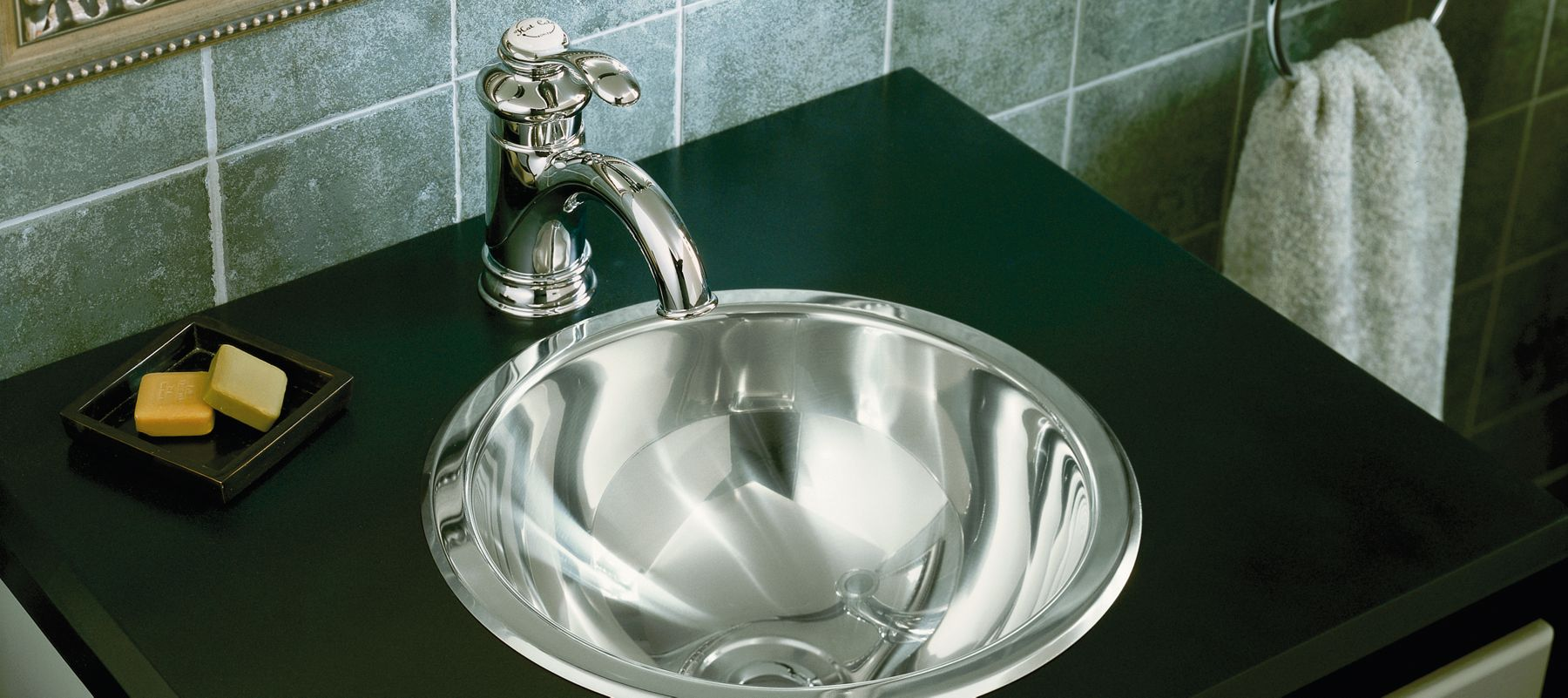 Stainless Steel Bathroom Sinks | Bathroom | KOHLER
