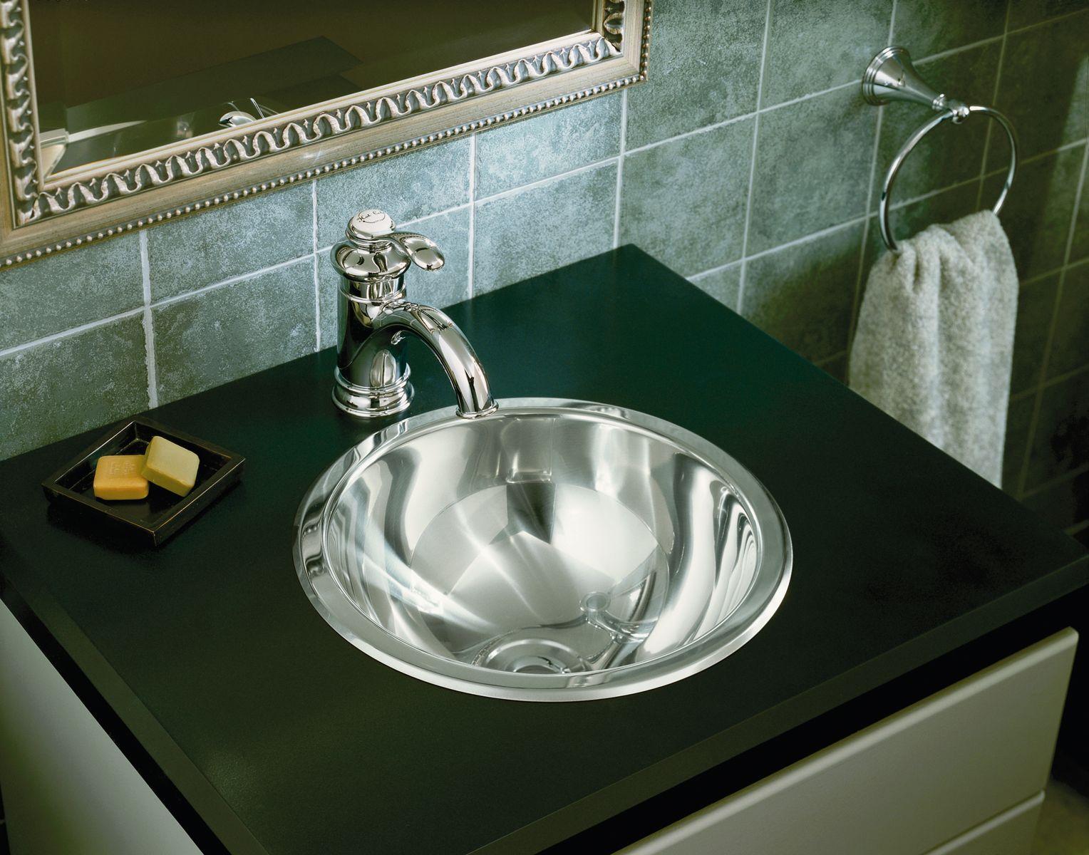 Merveilleux Stainless Steel Bathroom Sinks