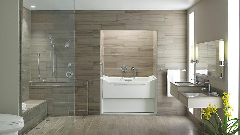 Bath Design Aging Gracefully Kohler