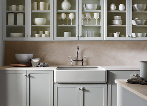 A Traditional Take on the Pale Neutral Kitchen