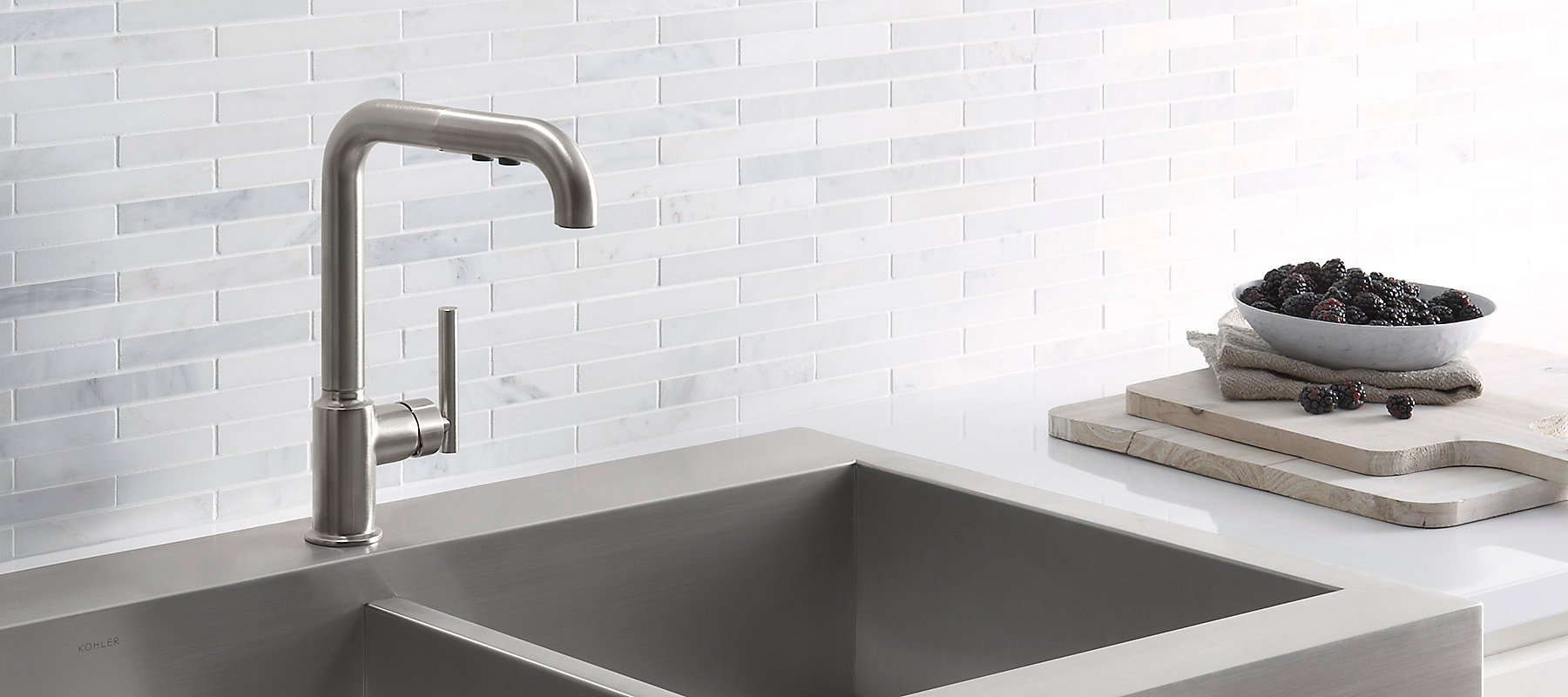 Kitchen Sinks With Faucets Kitchen Kohler