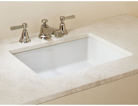 UNDER-MOUNT BATHROOM SINKS