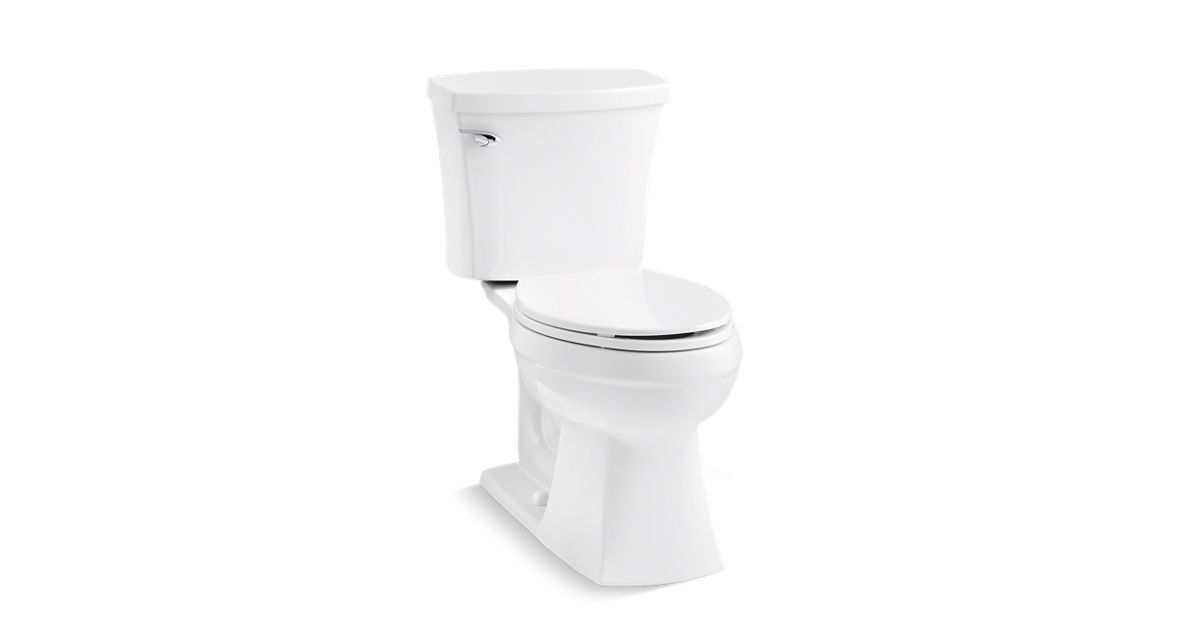 K 12767 Elliston The Complete Solution Comfort Height Two Piece Elongated 1 28 Gpf Toilet Kohler